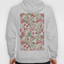 Vintage & Shabby Chic - Pink and White Summer Flowers Hoody