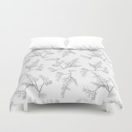 Botanic Motif Nature Pattern Duvet Cover