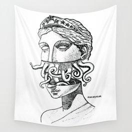 Greek Renaissance Octopus Wall Tapestry