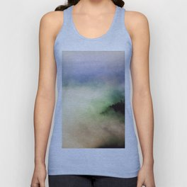 Ethereal Rainbow Clouds - Nature Photography Unisex Tank Top