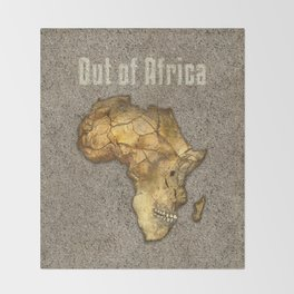 Out of Africa Throw Blanket