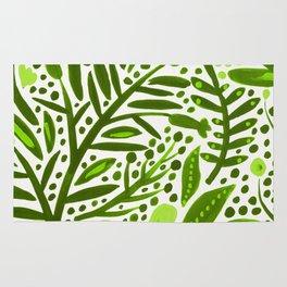 Garden – Lime Green Palette Rug