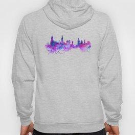 Chicago Watercolor Skyline 2 Hoody