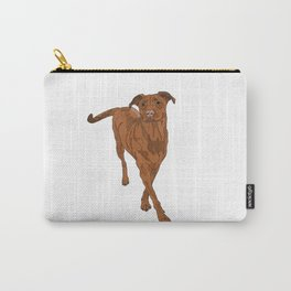 Dog Portrait 2 Carry-All Pouch