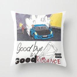 Juice WRLD Good bye and Good Riddance Throw Pillow