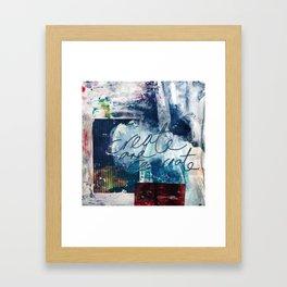 Create and Re-create Framed Art Print
