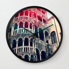 Scala Contarini del Bovolo venice. Wall Clock