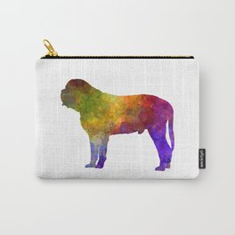 Mastiff in watercolor Carry-All Pouch