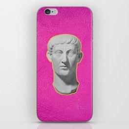 Emperor Constantine Rolling His Eyes iPhone Skin