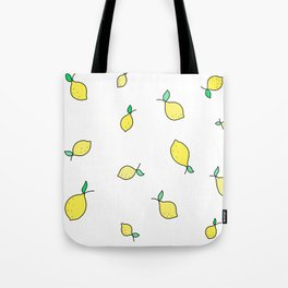 Lemon Tote Bag