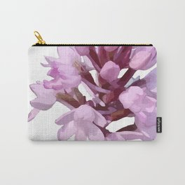 Pink Orchid Wildflower Carry-All Pouch