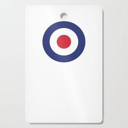Roundel British Bullseye War Plane Target Icon MOD 60s Britain Cutting Board