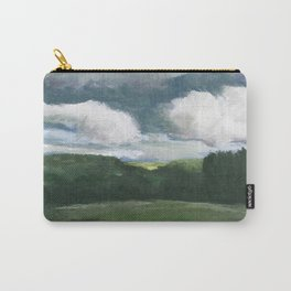 Impressionistic Kansas Landscape Carry-All Pouch