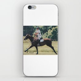 Bay Cantering Polo Pony iPhone Skin