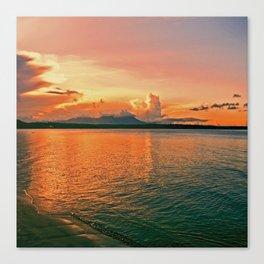 Pure Sunset Canvas Print