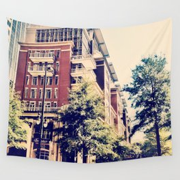 Downtown Charlotte, NC Wall Tapestry