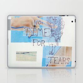 no time for tears Laptop & iPad Skin
