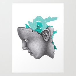 Second Nature by Infinite Bound Art Print