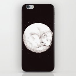 The Howl of the Moon iPhone Skin
