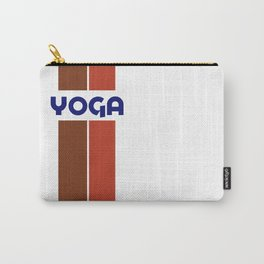 YOGA - stripe Carry-All Pouch