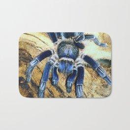 Nugget the Blue Tarantula Bath Mat
