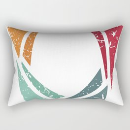 Back to Basics (Brite) Rectangular Pillow