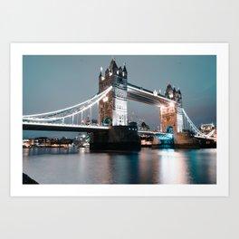 The Tower Bridge Art Print