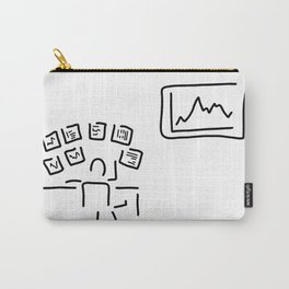 stock exchange stockbroker fund manager Carry-All Pouch