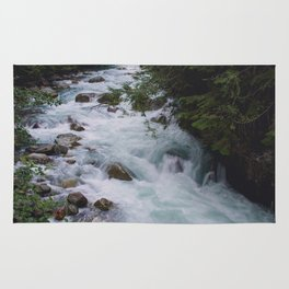 Nooksack River - Pacific Northwest Rug