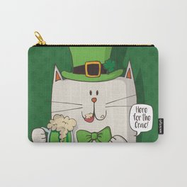 Irish cat Carry-All Pouch