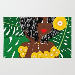 Tropical Gal Rug