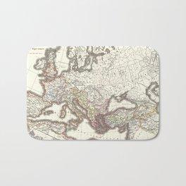 Vintage Map of The Roman Empire (1865) Bath Mat