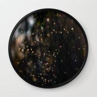 bugs Wall Clocks featuring Bugs by Dora Birgis