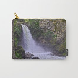 Sutherland Falls BC,Canada Nature Scene Carry-All Pouch