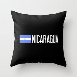 Nicaraguan Flag & Nicaragua Throw Pillow