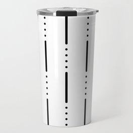 Morse Code #159 Travel Mug