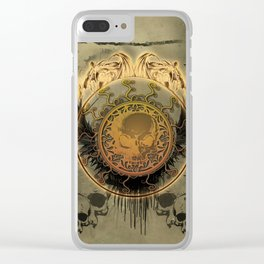 The skulls Clear iPhone Case