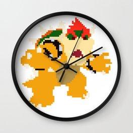 Bowser Wall Clock