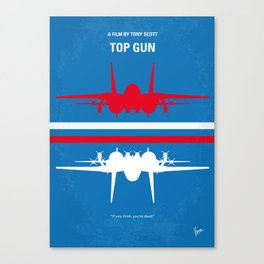 No128 My TOP GUN Canvas Print