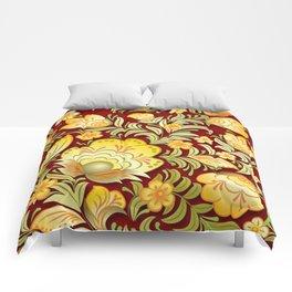 Art Flowers V2 Comforters