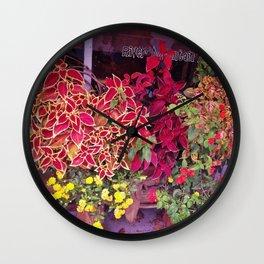 KINGSPORT TN - SHOPFRONT FLOWERS Wall Clock