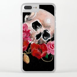 Cherished dead Clear iPhone Case
