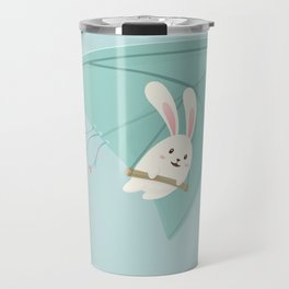 Let's fly to the sky Travel Mug