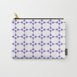 Purple Haze of Frogs Carry-All Pouch