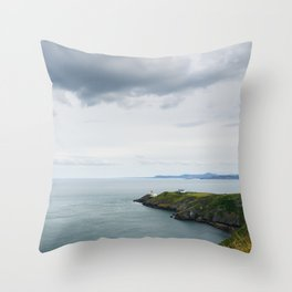 HOWTH 01 Throw Pillow