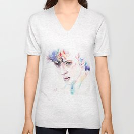 Troye Sivan WILD Inspired Artwork Unisex V-Neck