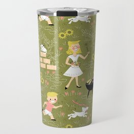 Summer Family Cookout Travel Mug