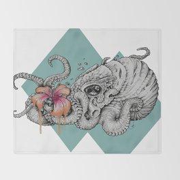 Flora Nautica Throw Blanket