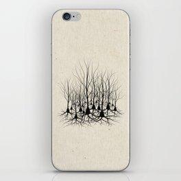 Pyramidal Neuron Forest iPhone Skin