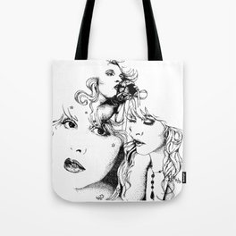 Trois Tote Bag